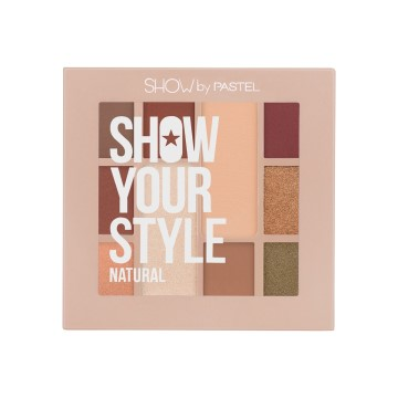Show By Pastel - Show Your Style Natural 10'lu Far Paleti